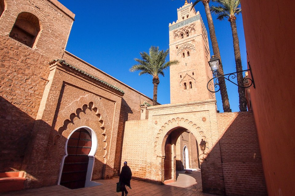 Koutoubiamoskee in Marrakech, Marokko