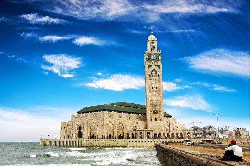 Hassan II-moskee in Casablanca, Marokko