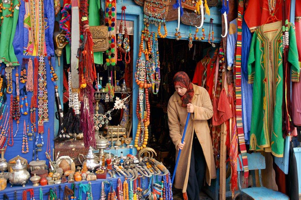 De medina van Fès, Marokko