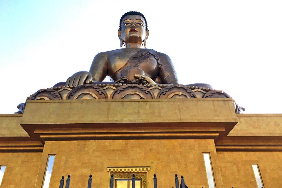 Grote Boeddha van Thimpu