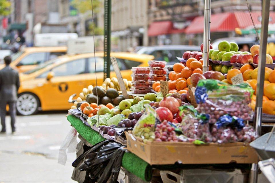 Straatbeeld in New York