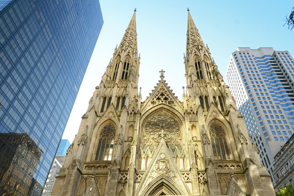 Cathedral of St.John the Divine in New York