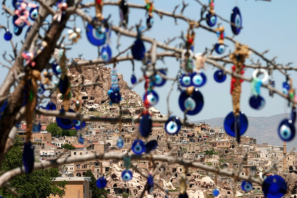 Cappadocië ogen, Turkije