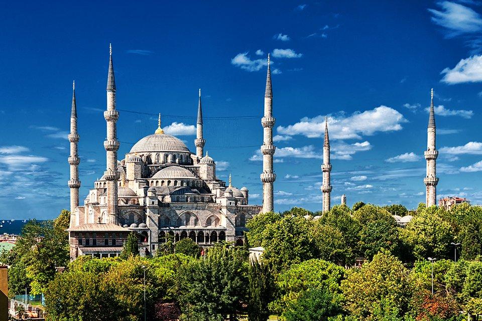 Blauwe Moskee, Turkije