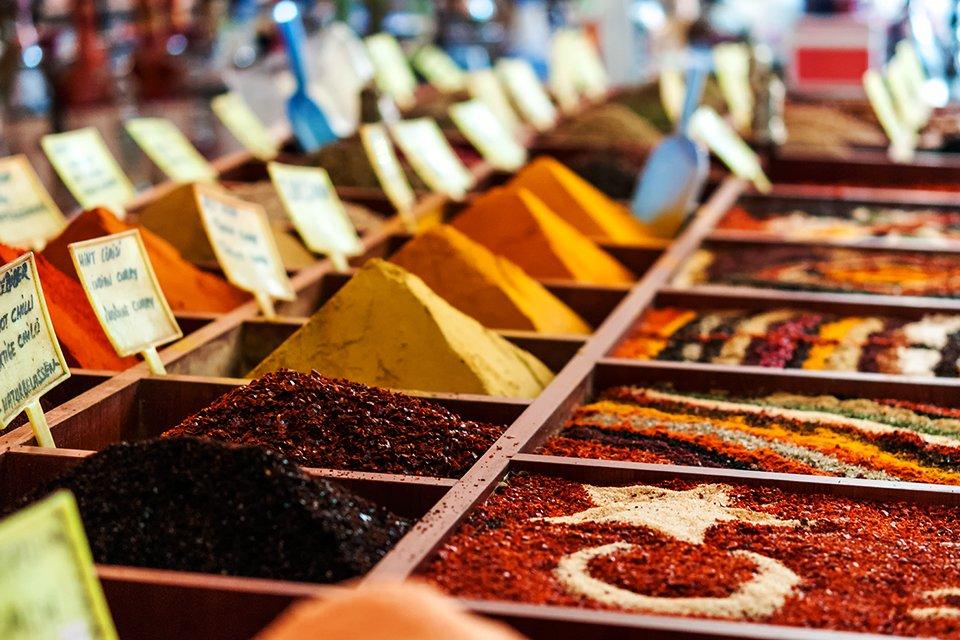 Turkse kruiden, Turkije