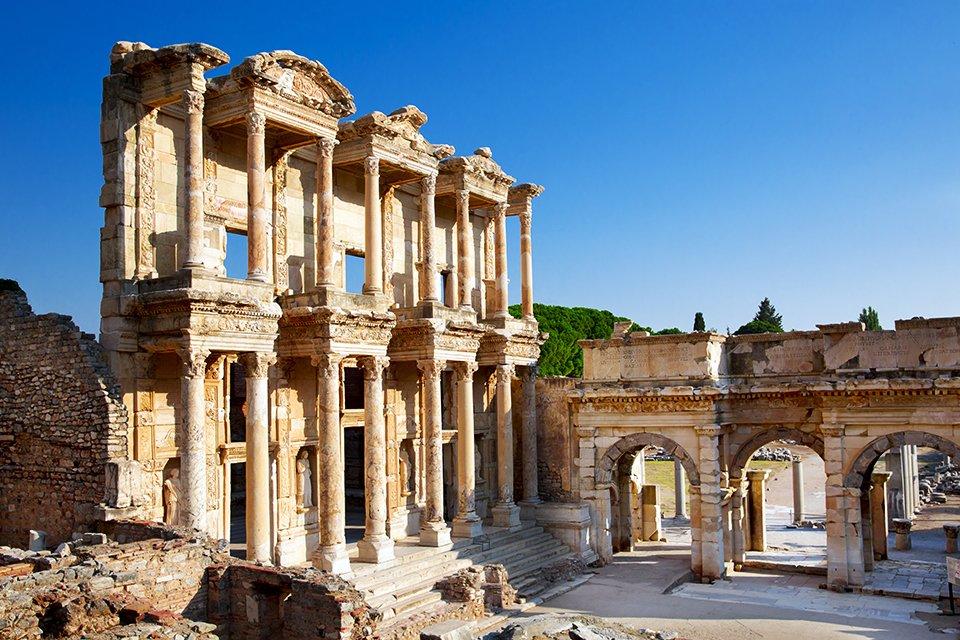 Tempel van Artemis in Efeze, Turkije