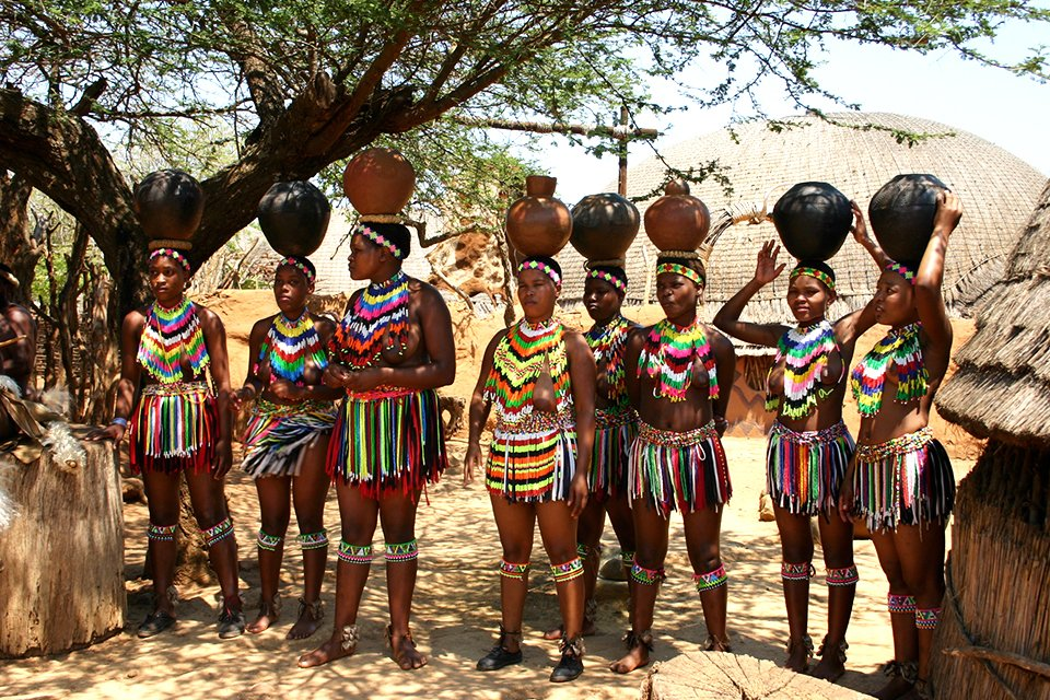 Zuludorp, Zuid-Afrika