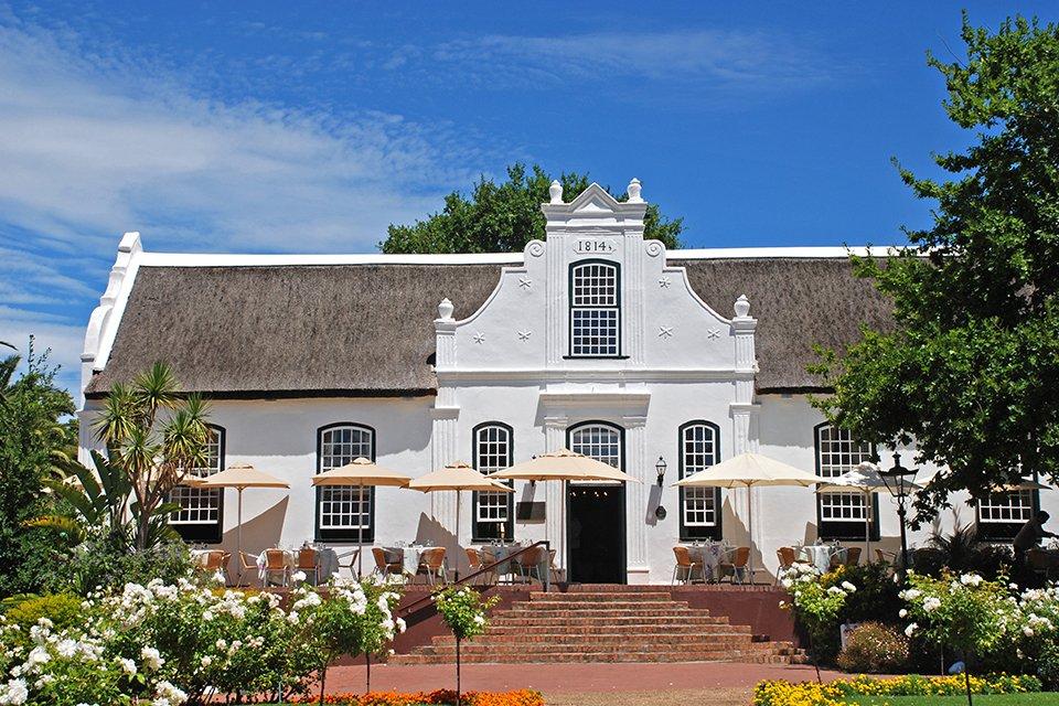 Koloniaal gebouw, Zuid-Afrika