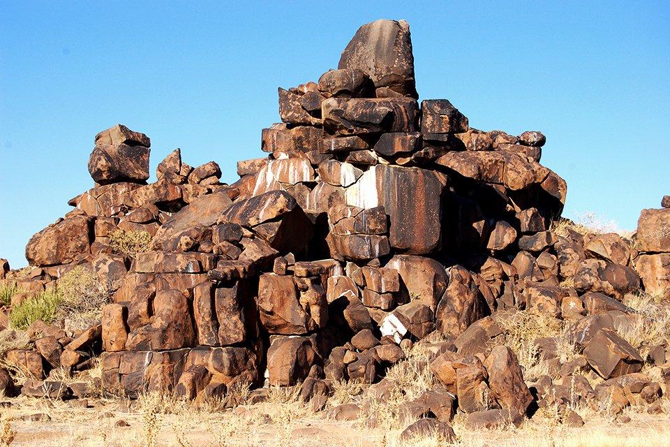 Giant's Playground, Namibië