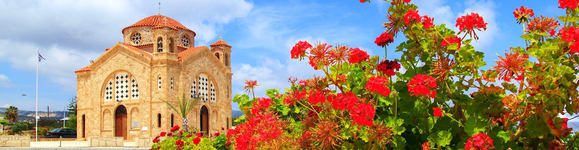 Orthodox kerkje in Cyprus