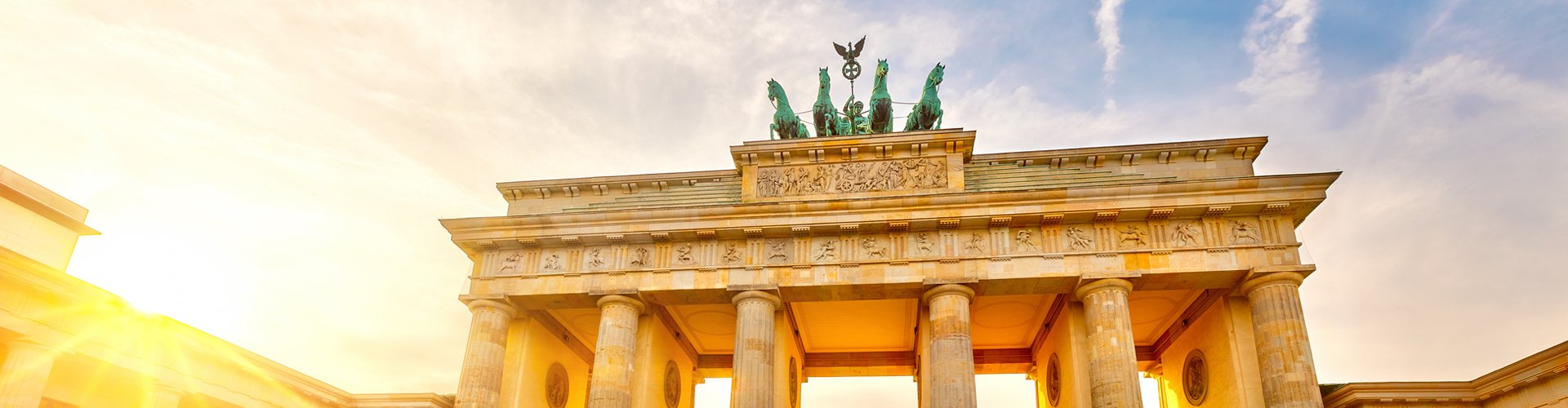 Brandenburger Tor in Berlijn, Duitsland
