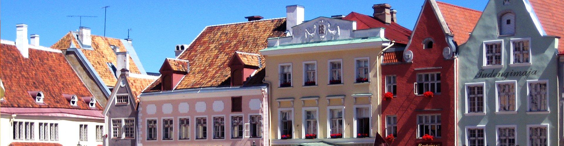 Oude centru Talinn, Estland