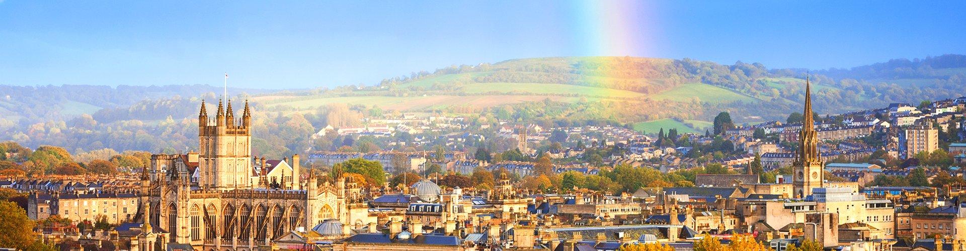 Skyline van Bath, Groot-Brittannië