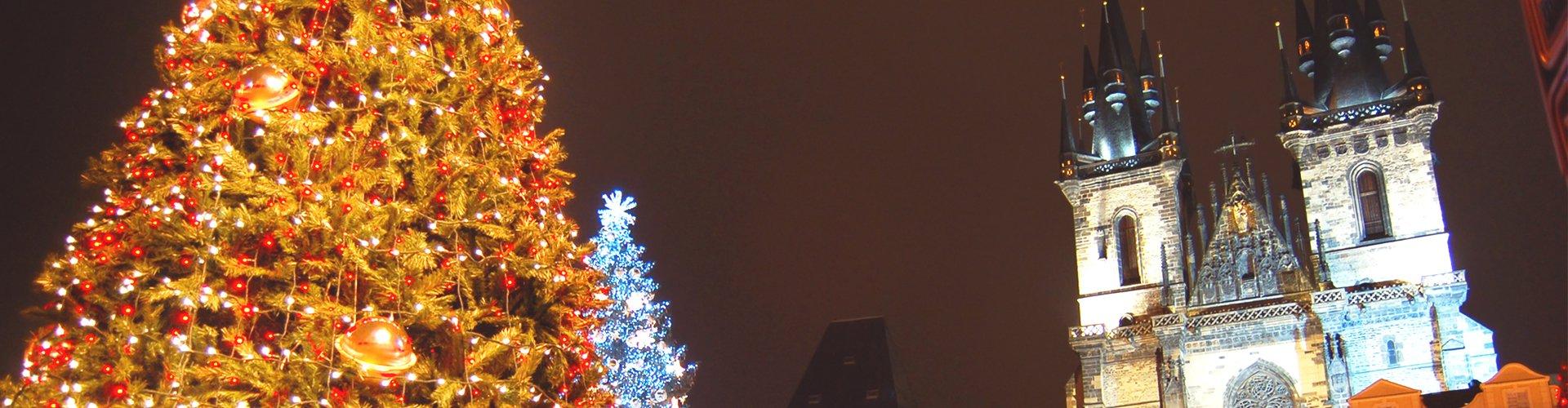 Praag in Kerstsfeer, Tsjechië