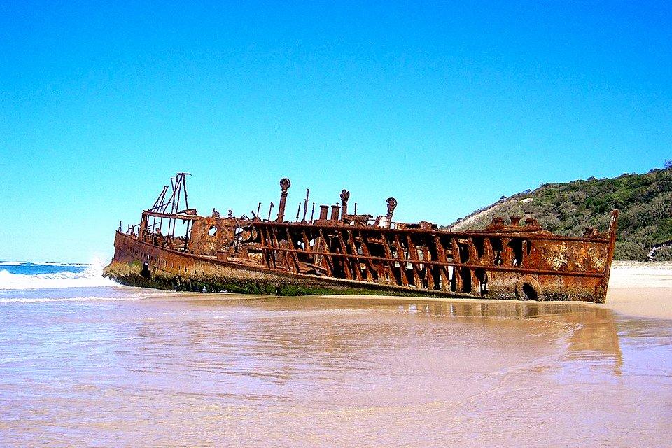 Fraser Islands in Australië