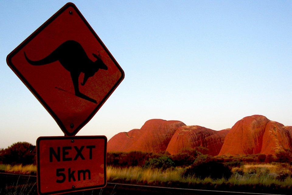 De Olga's in de Outback van v