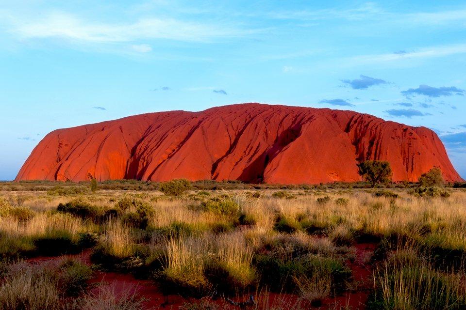 Uluru (Ayers Rock) in de Outback van Australië