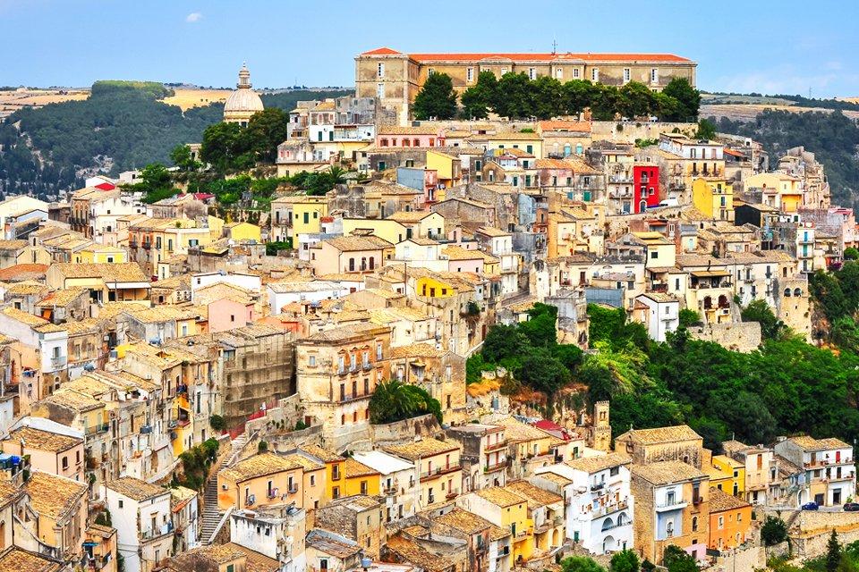 Ragusa op Sicilië, Italië