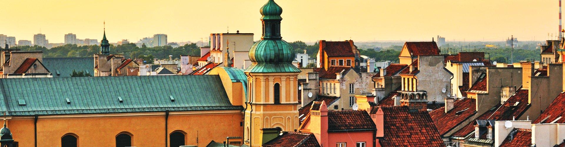 Warschau in Polen