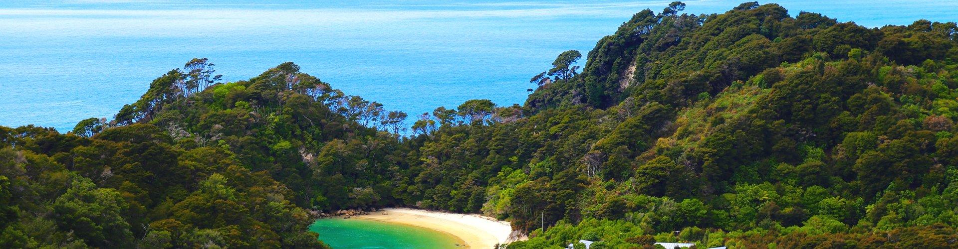 Abel Tasman NP in Nieuw-Zeeland
