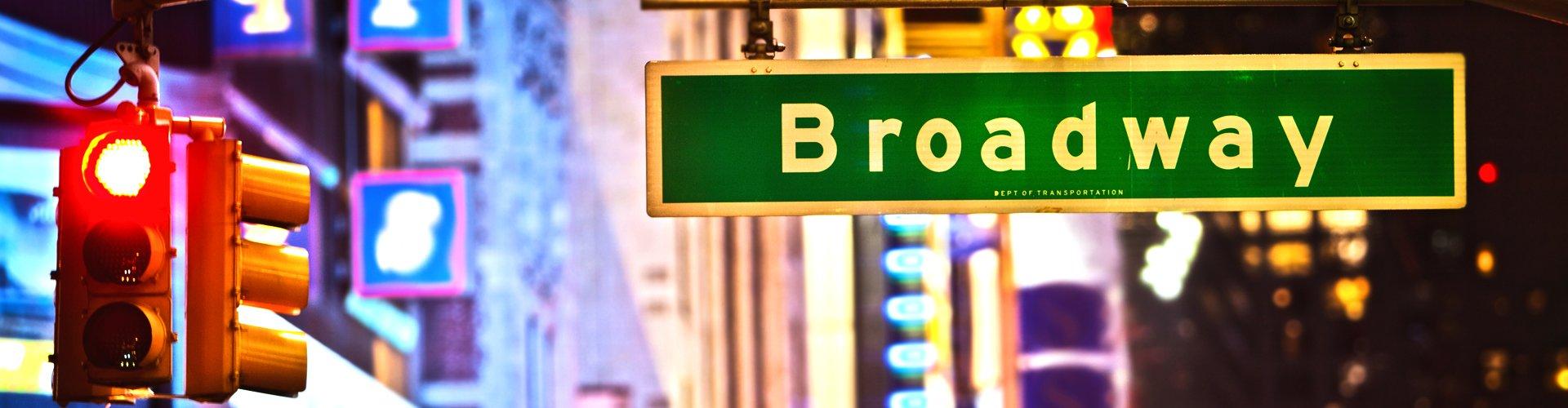 Broadway in New York, Amerika