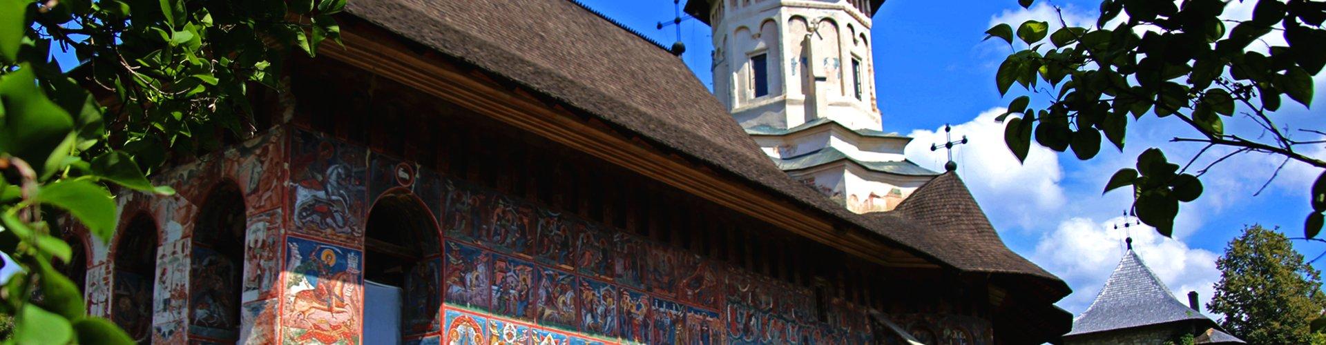 Klooster van Moldovita in Roemenië