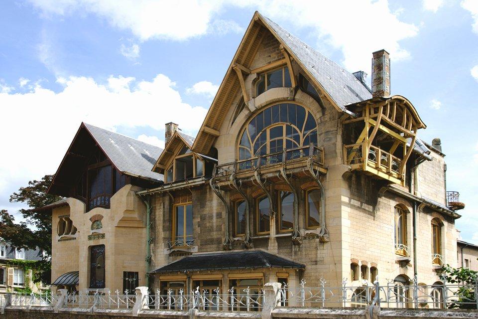 Villa Majorelle in Nancy, Frankrijk