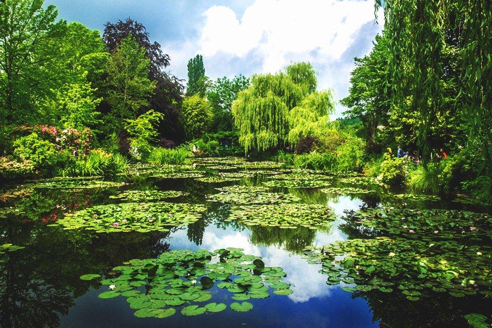 Tuin van Monet in Giverny, Frankrijk