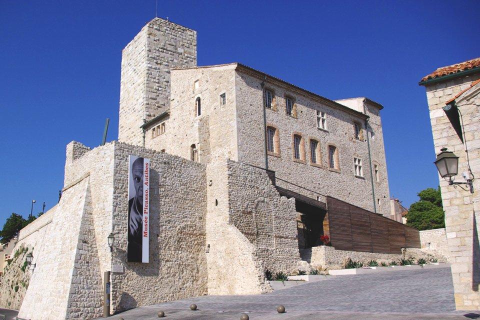 Musée Picasso in Antibes, Frankrijk