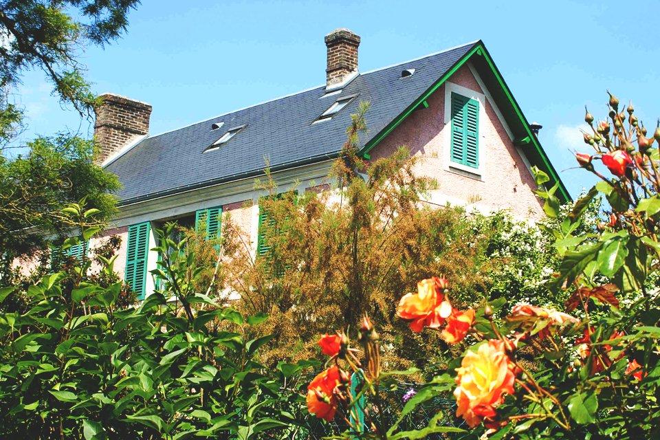 Huis van Monet in Giverny, Frankrijk