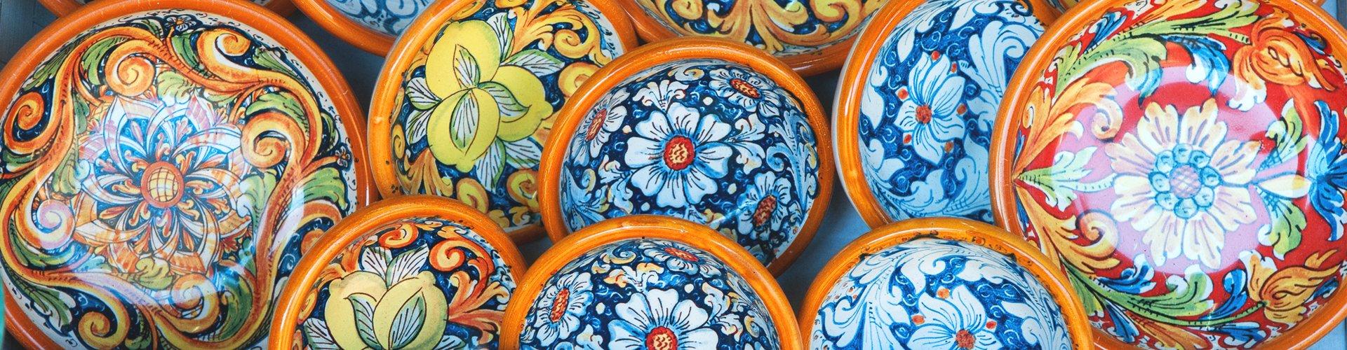 Majolica-aardewerk, Umbrië, Italië