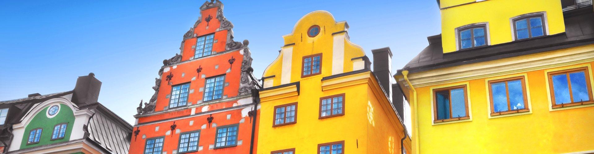 Gamla Stan in Stockholm, Zweden