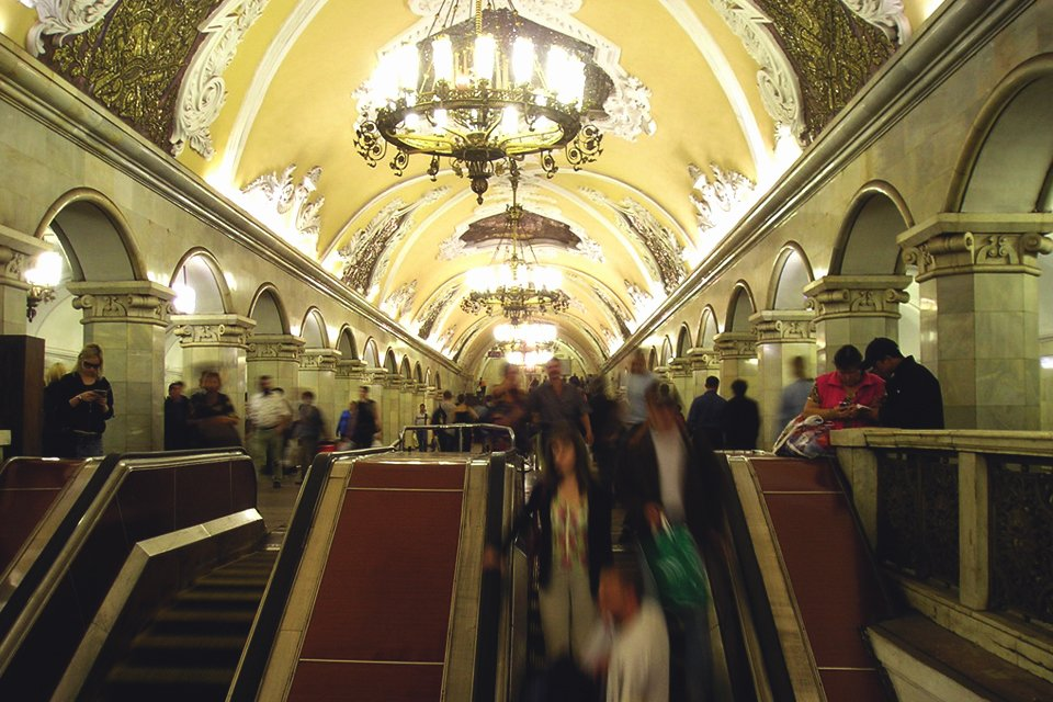 Metro van Moskou, Rusland