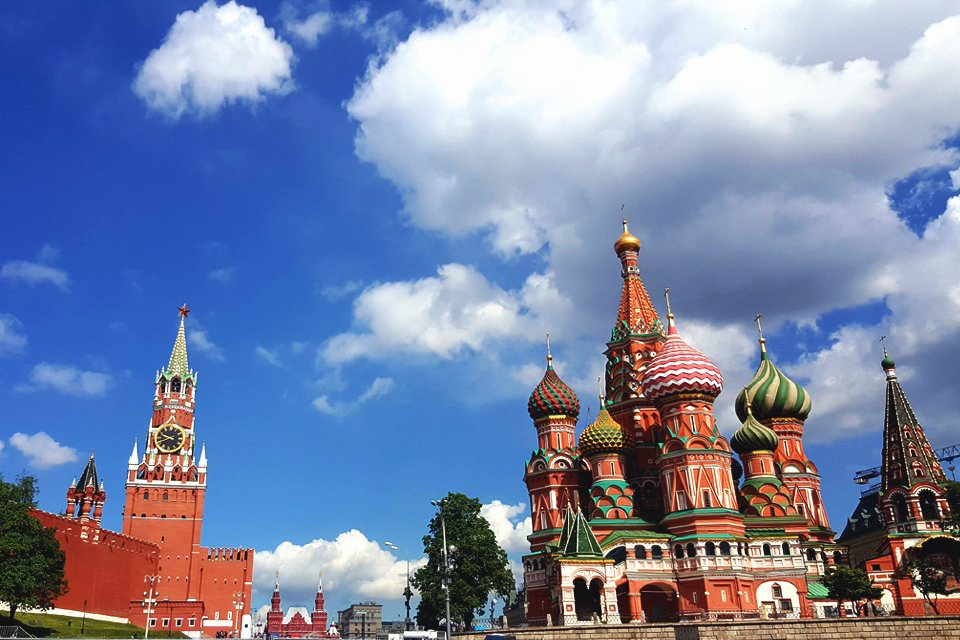 Rode Plein in Moskou, Rusland