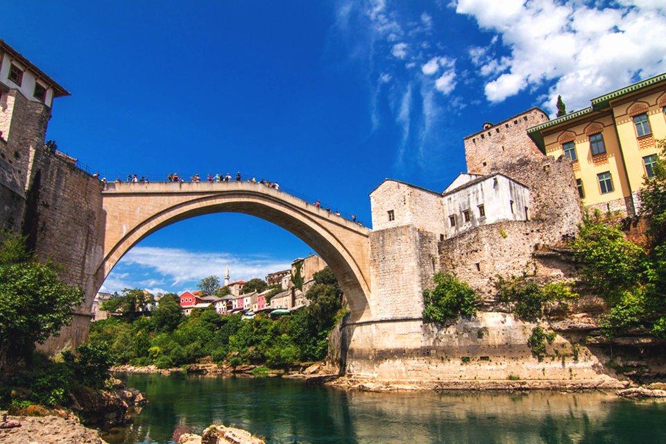 Brug van Mostar, Bosnië-Herzegovina