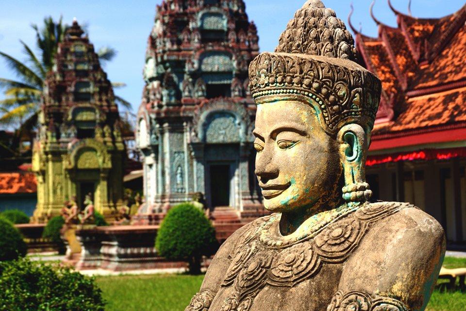 Kleurrijk Cambodja