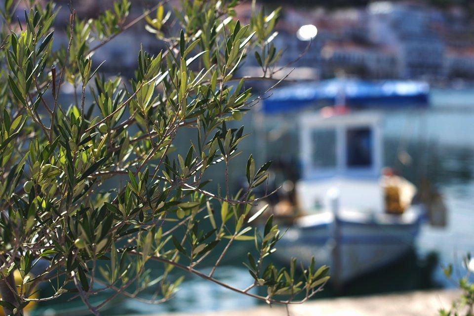 Een haventje, Griekenland