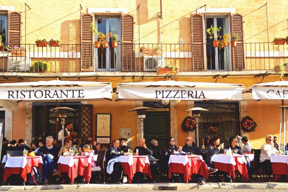 Piazza Navona in Rome, Italië