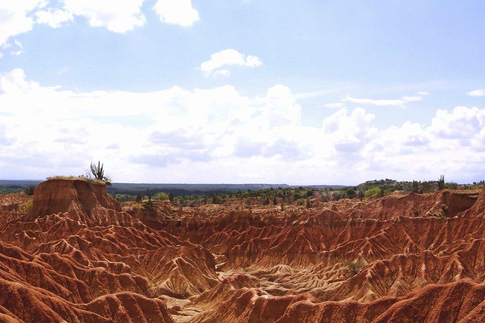 Tatacoawoestijn, Colombia
