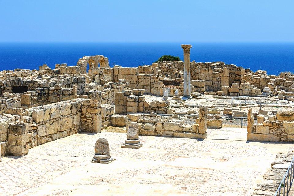 Kourion op Cyprus