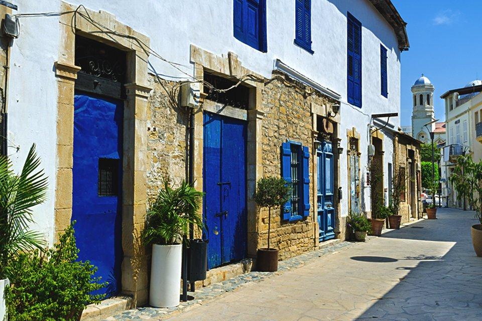 Sfeervol straatje op Cyprus