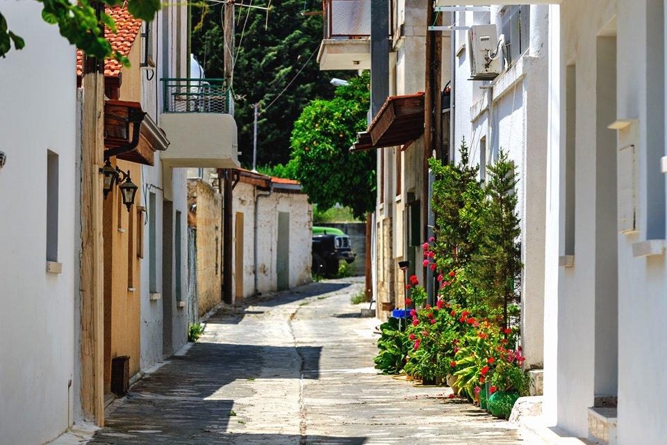 Wijndorp Omodos op Cyprus