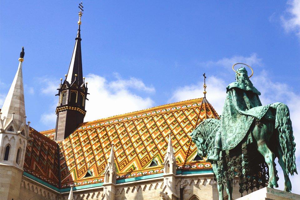 Matthiaskerk in Boedapest, Hongarije
