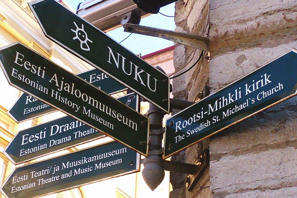 Wegwijs in Tallinn, Estland