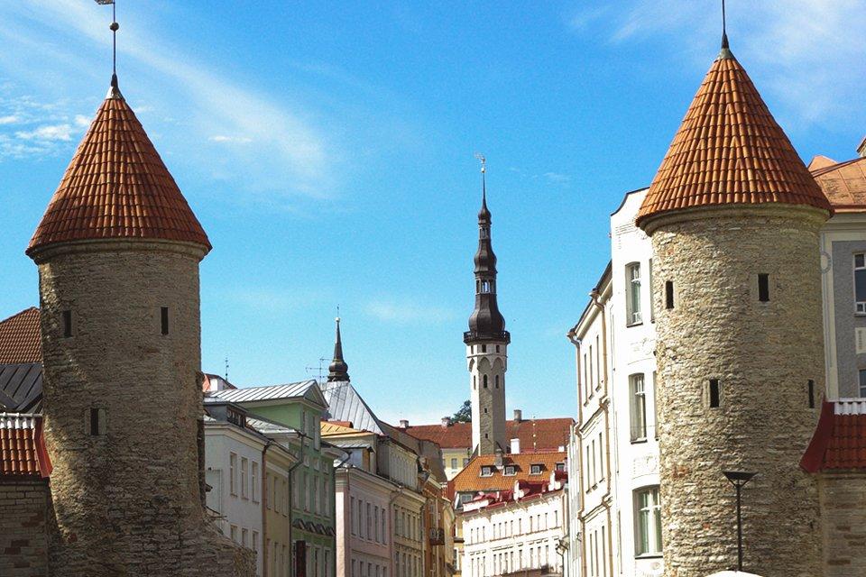 Stadsmuren van Tallinn, Estland