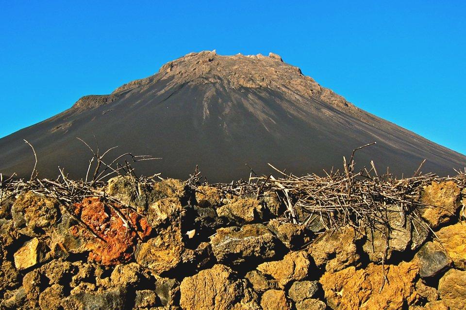 Pico de Fogo op Fogo, Kaapverdië