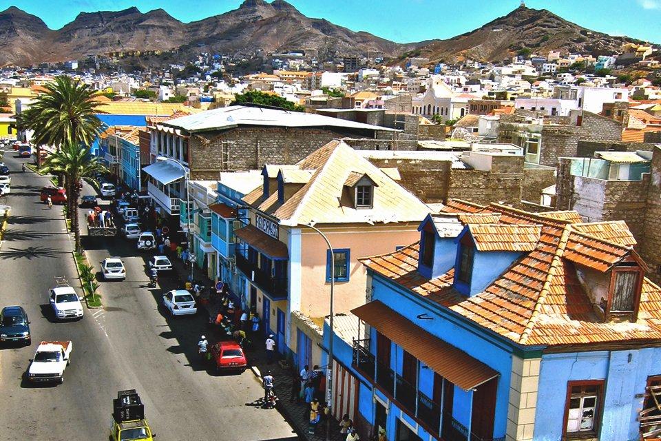 Mindelo op São Vicente, Kaapverdië