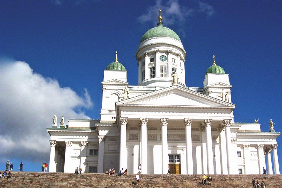 Kathedraal in Helsinki, Finland