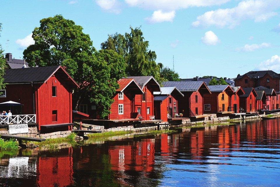 Porvoo in Finland