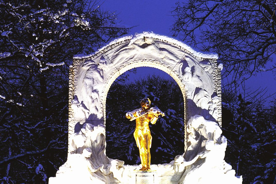 Winter in Wenen, Oostenrijk
